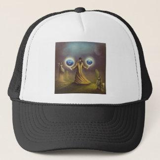 wizard fantasy magic trucker hat