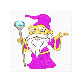 Wizard Gnome Canvas Print