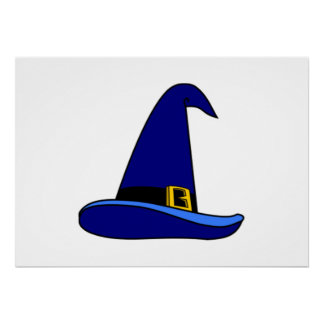 Wizard Hat Poster