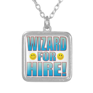 Wizard Hire Life B Silver Plated Necklace
