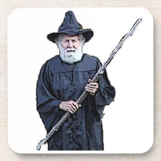 Wizard Image Cork Coaster