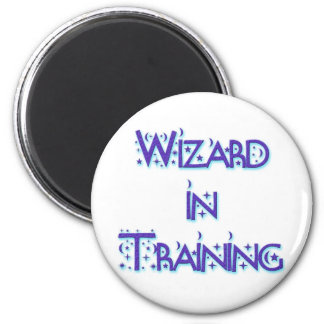 Wizard in Training blue Magnet