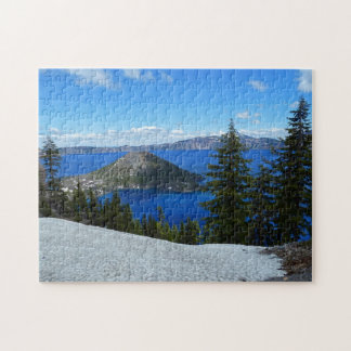 Wizard Island Crater Lake Oregon Jigsaw Puzzle