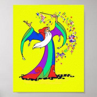 Wizard Magic Poster