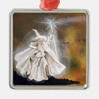 Wizard Metal Ornament