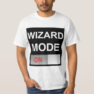 Wizard Mode: Light Edition - Double Sided T-Shirt