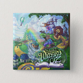Wizard of Oz 2 Inch Square Button