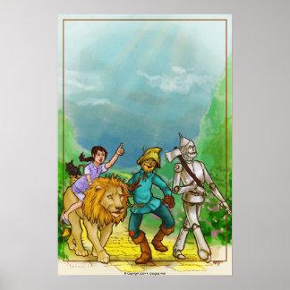 Wizard of Oz Art Poster