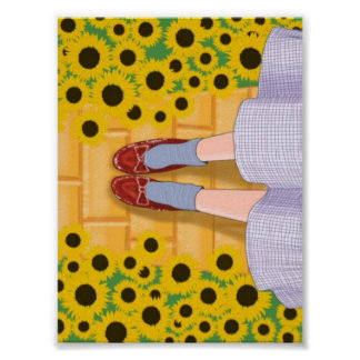 Wizard of Oz Dorothy Instagram Poster
