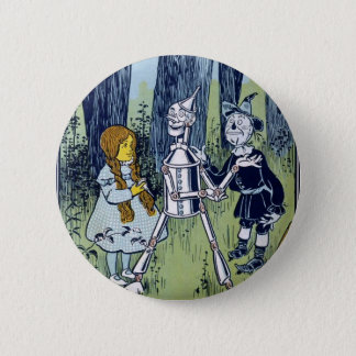 Wizard of Oz Dorothy Tin Woodsman Scarecrow 2 Inch Round Button