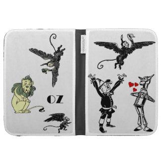 Wizard of Oz Kindle Case Tin Man Lion Monkeys