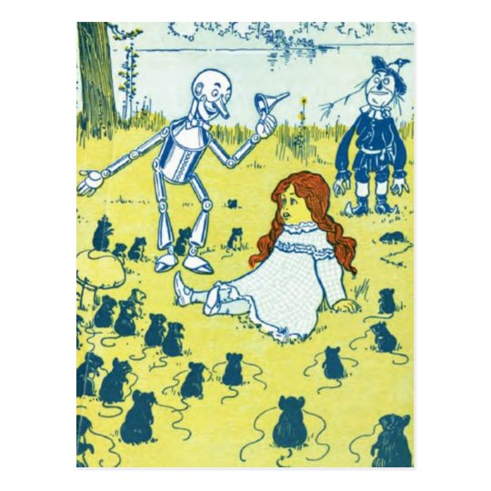 Wizard of Oz Postcard