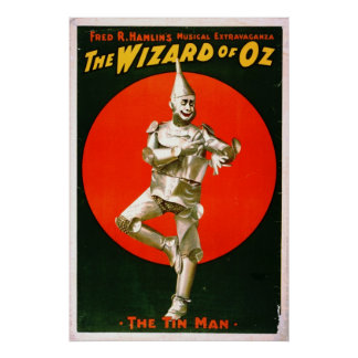 Wizard of Oz - Tin Man 1903 Posters