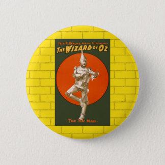 Wizard Of Oz Tin Man - Vintage Musical Theater 2 Inch Round Button
