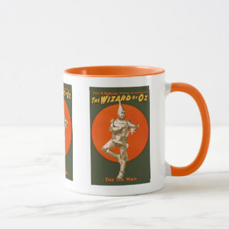 Wizard Of Oz Tin Man - Vintage Musical Theater Mug