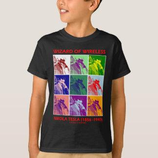 Wizard Of Wireless (Nikola Tesla Nine Pictures) T-Shirt