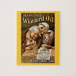 Wizard Oil Vintage Advertisement Puzzle