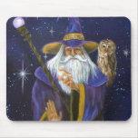 Wizard original painting mousepad