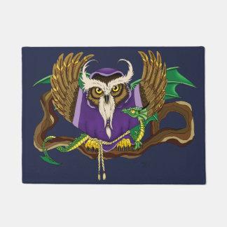 Wizard Owl & Dragon Doormat