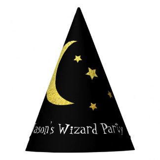 Wizard Party Your Text and Color Party Hat