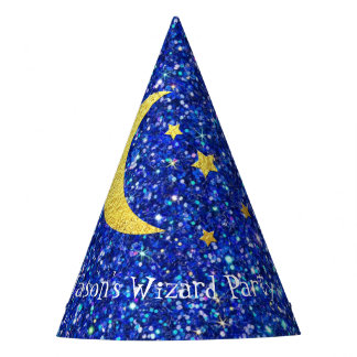 Wizard Party Your Text Party Hat
