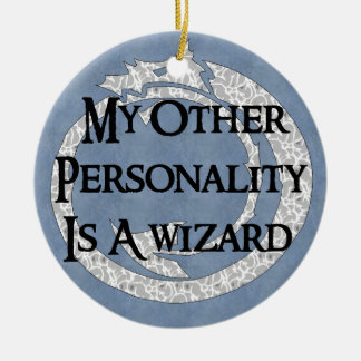 Wizard Personality Ceramic Ornament