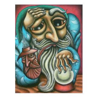 'Wizard' Postcard