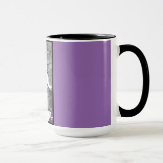 Wizard Rocks Purple Ringer Mug