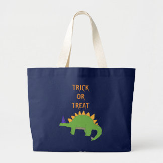 Wizard Stegosaurus Trick-or-Treat bag