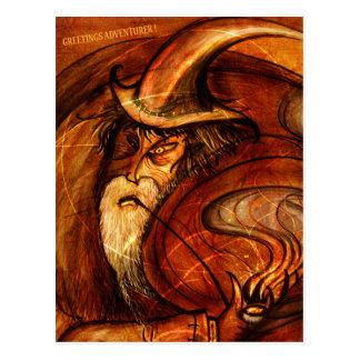 Wizard Wishes Postcard