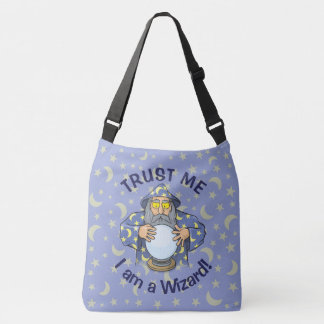 Wizard with Ball Crossbody Bag