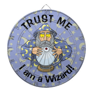 Wizard with Ball Dartboard