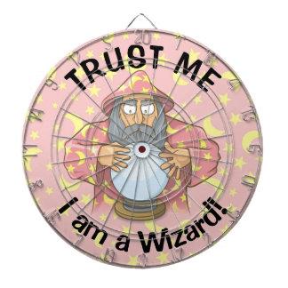 Wizard with Ball Dartboards