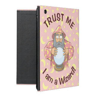 Wizard with Ball iPad Case