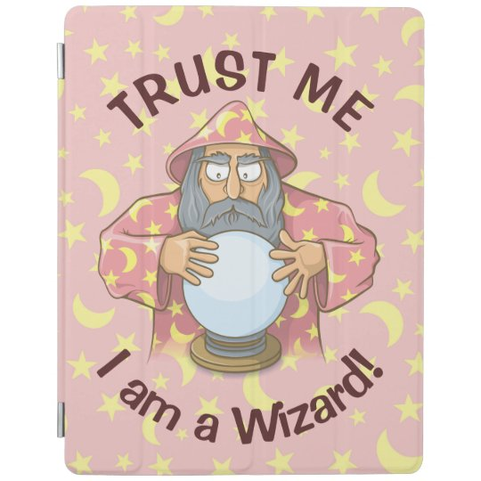 Wizard with Ball iPad Cover