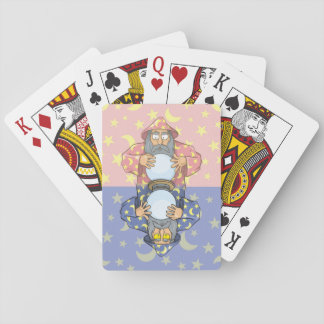 Wizard with Ball Playing Cards