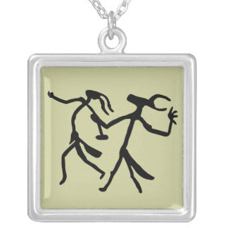 Wizards Dance Silver Plated Necklace