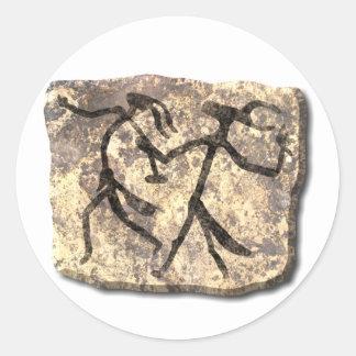 Wizards Dance stone sticker