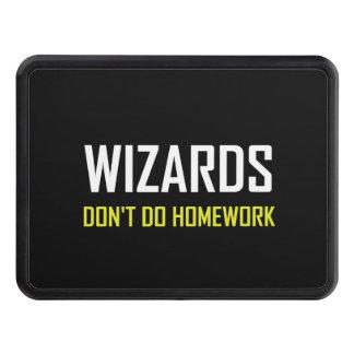 Wizards Do Not Do Homework Trailer Hitch Cover