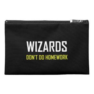 Wizards Do Not Do Homework Travel Accessory Bag
