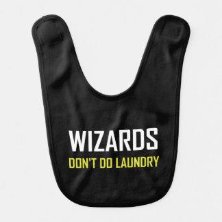 Wizards Do Not Do Laundry Bib