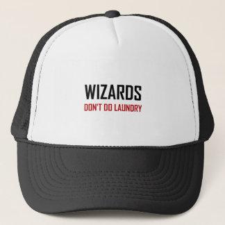 Wizards Do Not Do Laundry Trucker Hat