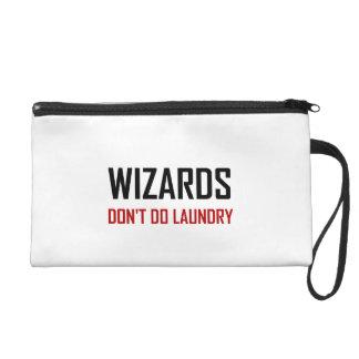Wizards Do Not Do Laundry Wristlet