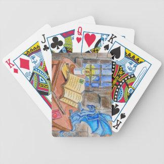 Wizards Keep Poker Deck