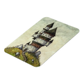 "Wizard's Tower 3""x4"" Magnet from Unreal Estate"