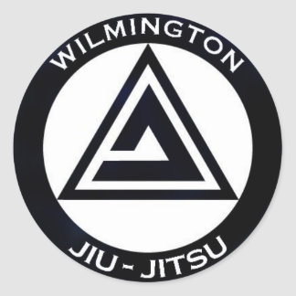 WJJ Black Bumper Sticker