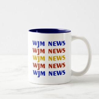 WJM news mug