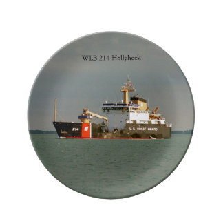 WLB 214 Hollyhock decorative plate