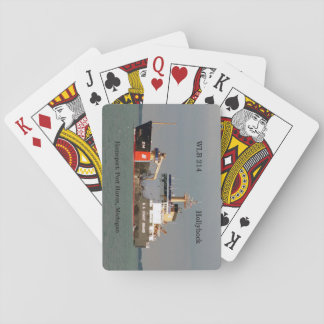 WLB 214 Hollyhock playing cards
