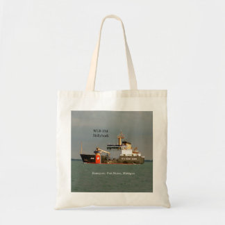 WLB 214 Hollyhock tote bag